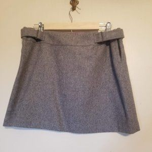 American Eagle Outfitters Wool Blend Gray Skirt 10